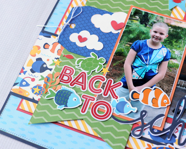 Jana Eubank Back to School Scrapbook Page 4 600