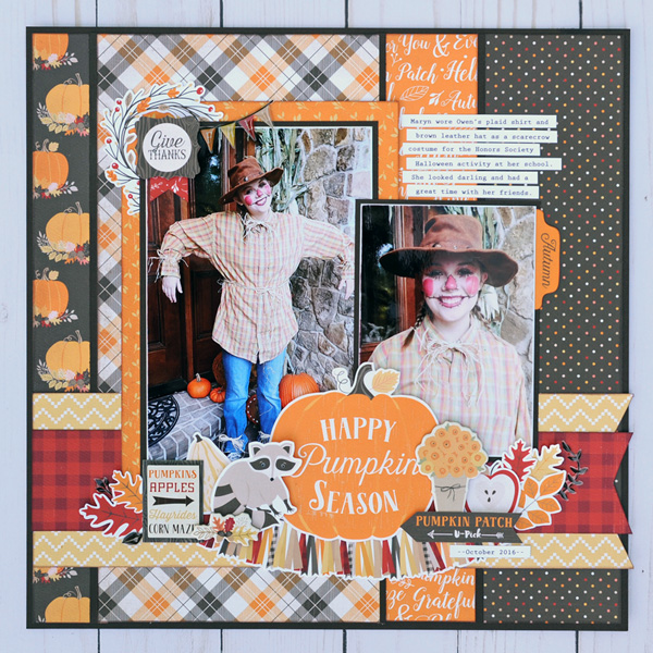 Jana Eubank Carta Bella Hello Fall Pumpkin Season Layout 1 600
