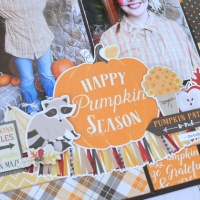 "Carta Bella: Hello Fall ""Pumpkin Season"" Layout"