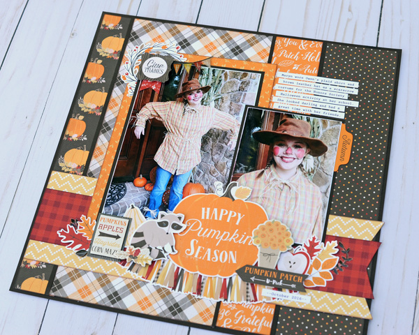 Jana Eubank Carta Bella Hello Fall Pumpkin Season Layout 5 600