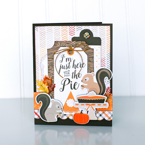 Jana Eubank Carta Bella Hello Fall Squirrel Pie Card 1 600