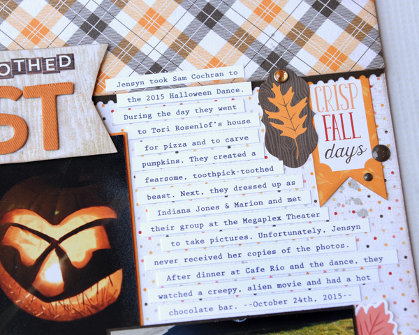Jana Eubank Carta Bella Hello Fall Toothpick Beast Scrapbook 3 600