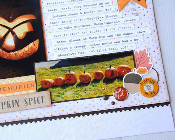 Jana Eubank Carta Bella Hello Fall Toothpick Beast Scrapbook 5 600