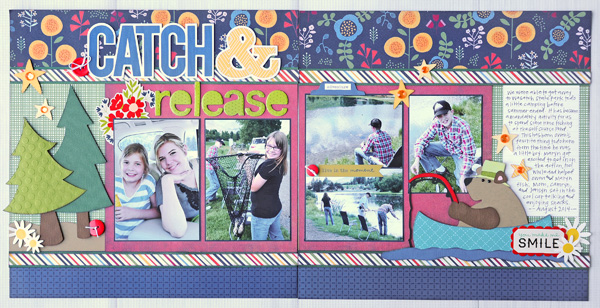 Jana Eubank Catch Release Scrapbook Layout 1 600