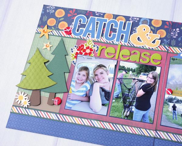 Jana Eubank Catch Release Scrapbook Layout 4 600