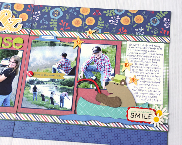 Jana Eubank Catch Release Scrapbook Layout 5 600