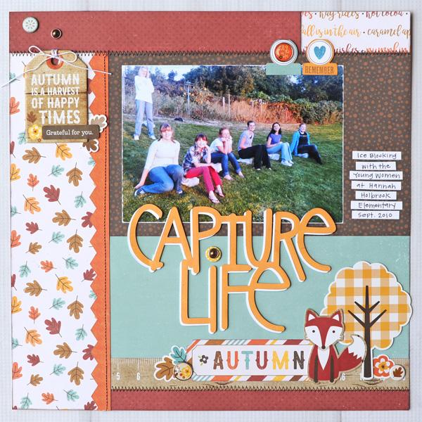 Jana Eubank Echo Park A Perfect Autumn Capture Life Layout 1