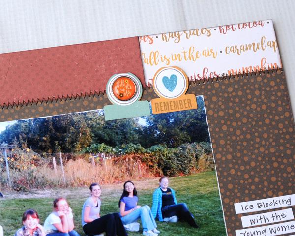Jana Eubank Echo Park A Perfect Autumn Capture Life Layout 2