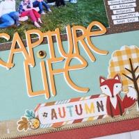 Scrapbook Page: Capture Life