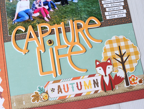 Jana Eubank Echo Park A Perfect Autumn Capture Life Layout 4