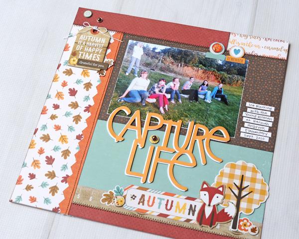 Jana Eubank Echo Park A Perfect Autumn Capture Life Layout 5