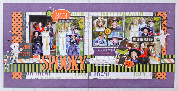 Jana Eubank Echo Park Paper Halloween Town Spooky Two Page Layout 1 600