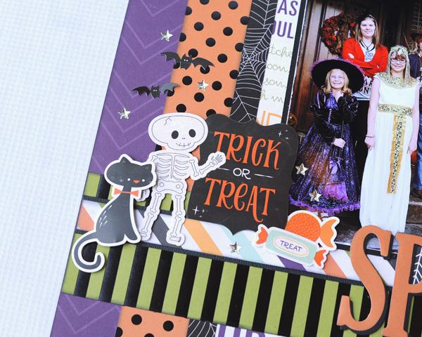 Jana Eubank Echo Park Paper Halloween Town Spooky Two Page Layout 4 600