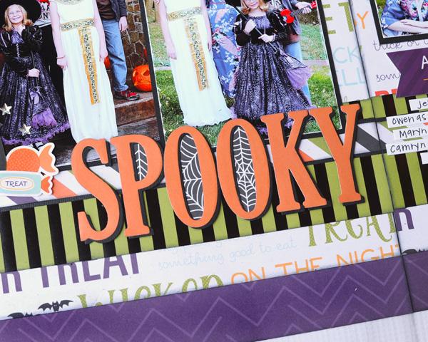 Jana Eubank Echo Park Paper Halloween Town Spooky Two Page Layout 5 600