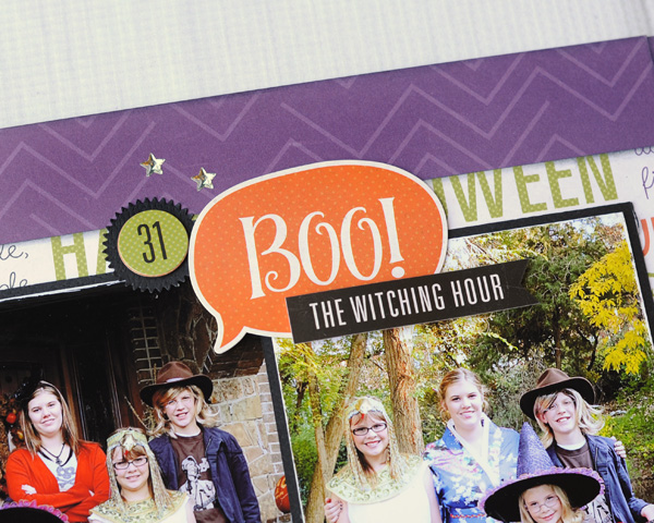 Jana Eubank Echo Park Paper Halloween Town Spooky Two Page Layout 6 600