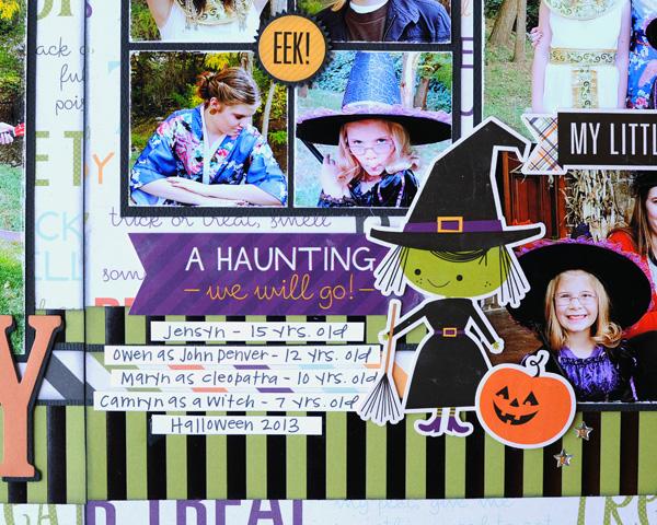 Jana Eubank Echo Park Paper Halloween Town Spooky Two Page Layout 7 600