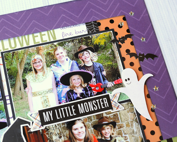 Jana Eubank Echo Park Paper Halloween Town Spooky Two Page Layout 8 600