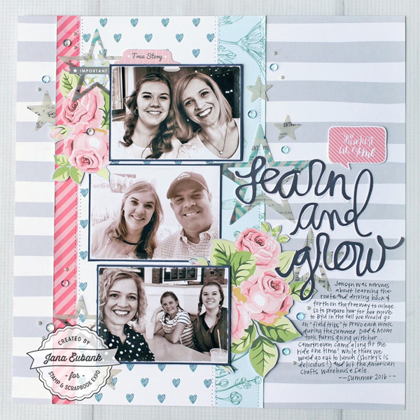 Jana Eubank Scrapbook Expo Learn Grow Layout 1 600