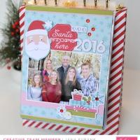 Bella Blvd: Santa Stops Here Album Kit