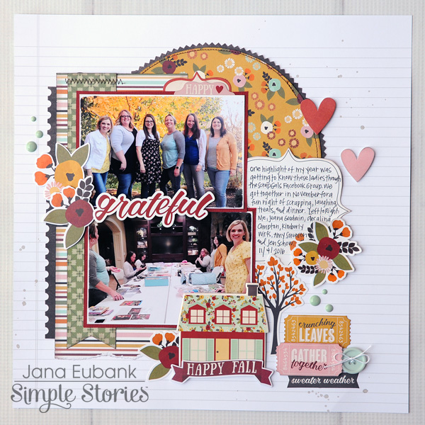 Jana Eubank Simple Stories Vintage Blessings Grateful 1 600