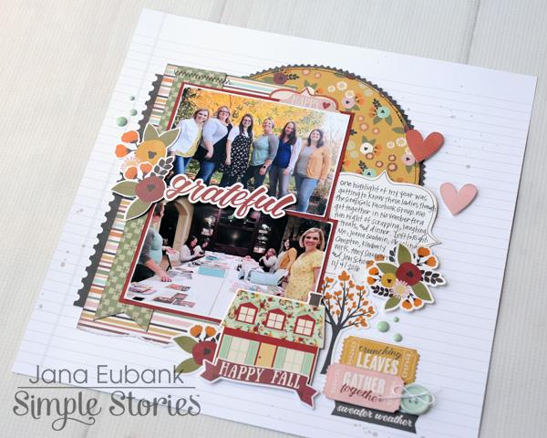 Jana Eubank Simple Stories Vintage Blessings Grateful 5 600