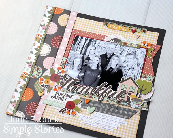 Jana Eubank Simple Stories Vintage Blessings Thankful 5 600