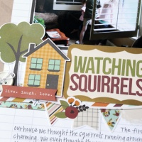 Simple Stories: Watching Squirrels