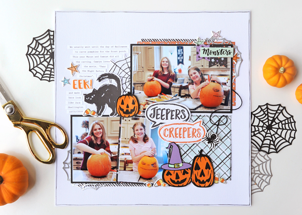 American-Crafts-Bootiful-Night-Jana-Eubank-Jeepers-Creepers-Scrapbook-Page-1-600