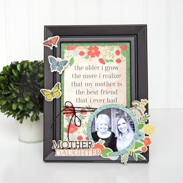 Jana Eubank Carta Bella Our Family Mother Daughter Frame 1 600