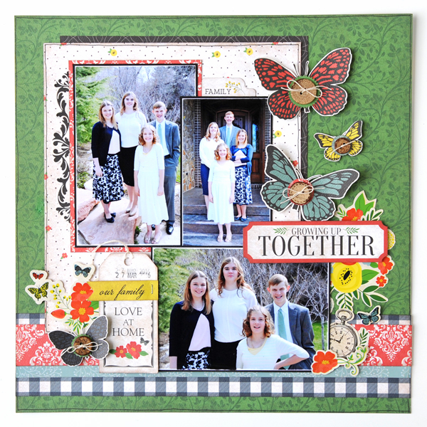 Jana Eubank Carta Bella Our Family Together Layout 6 SQUARE 600
