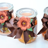 Spellbinders: Quick Gift with Handmade Fall Flowers