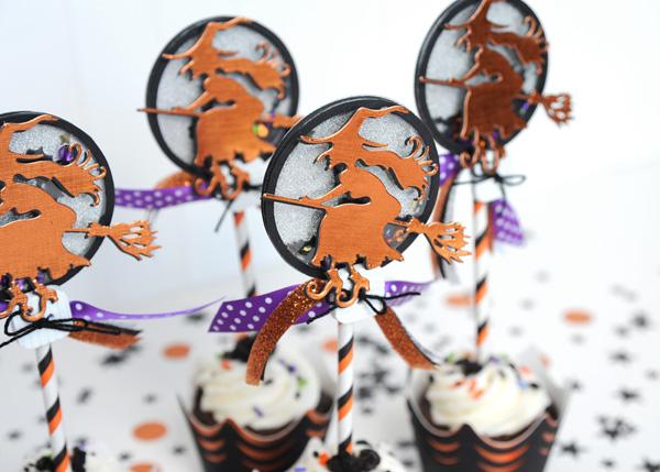 Jana Eubank Spellbinders Halloween Cupcakes 7 600