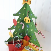 Carta Bella Paper: Counting Down with a Christmas Tree!