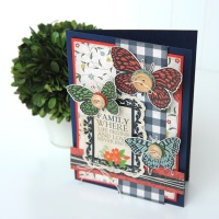 Carta Bella Paper: Butterfly Card