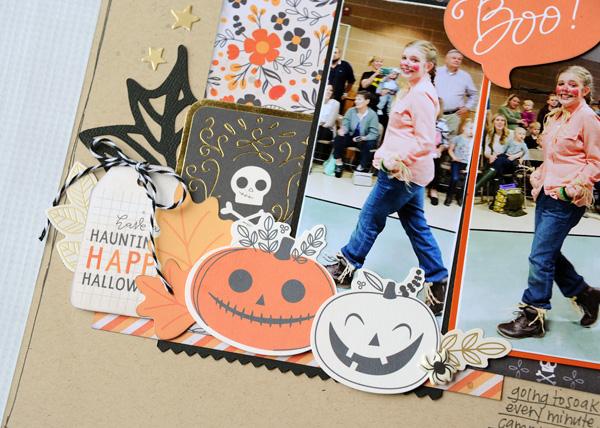 Jana Eubank Pebbles Midnight Haunting Halloween Scrapbook Page 3 600