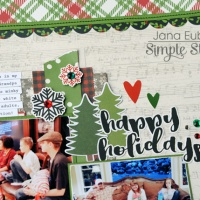 Simple Stories: Happy Holiday