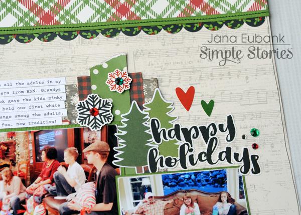 Jana Eubank Simple Stories Very Merry Happy Holidays Layout 2 600