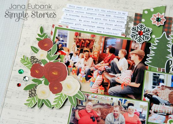 Jana Eubank Simple Stories Very Merry Happy Holidays Layout 3 600
