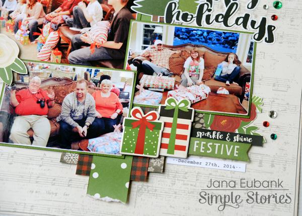 Jana Eubank Simple Stories Very Merry Happy Holidays Layout 4 600