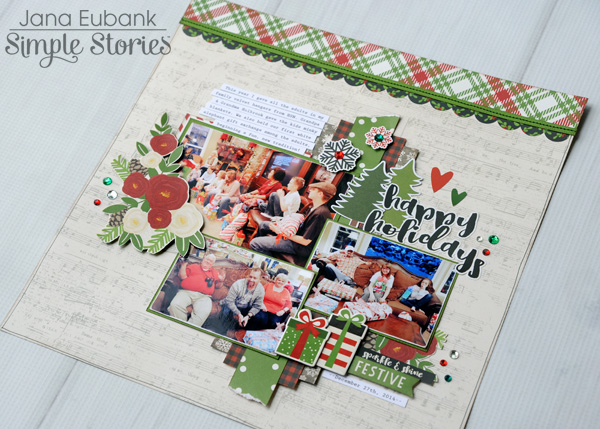 Jana Eubank Simple Stories Very Merry Happy Holidays Layout 5 600