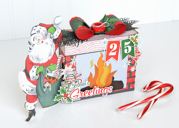 Jana Eubank Carta Bella A Very Merry Christmas Fireplace Box 2 600