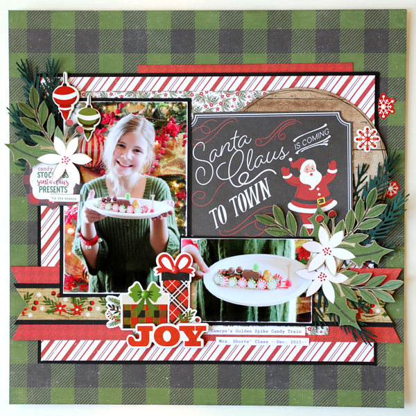 Jana Eubank Echo Park A Perfect Christmas Layout 2 Square 600