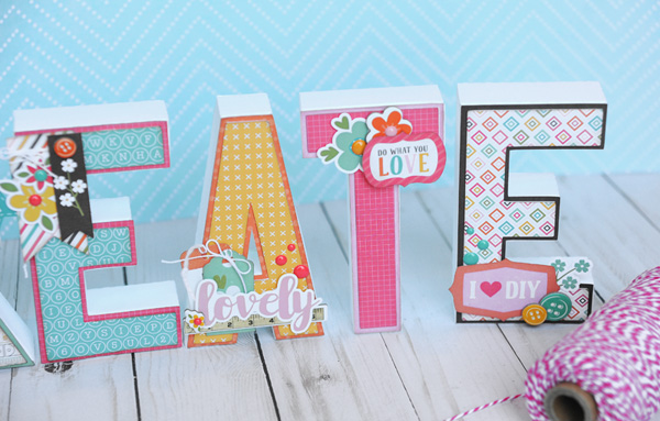 Jana Eubank Echo Park Paper Crafting CREATE Letters 3 600