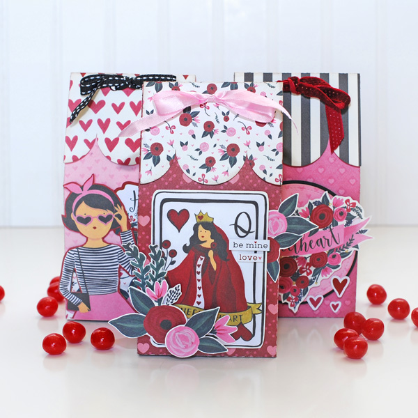 Jana Eubank Carta Bella Hello Sweetheart Valentine Gift Treat Box 1 600