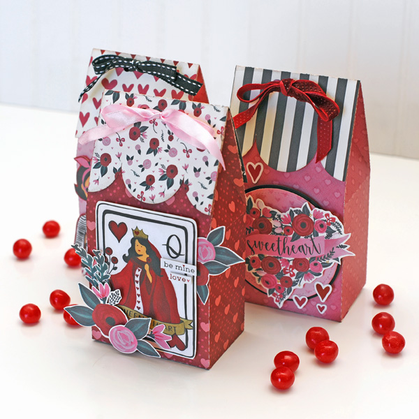 Jana Eubank Carta Bella Hello Sweetheart Valentine Gift Treat Box 5 600