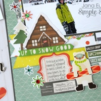 Simple Stories: Chills and Thrills on Snowy Hills!