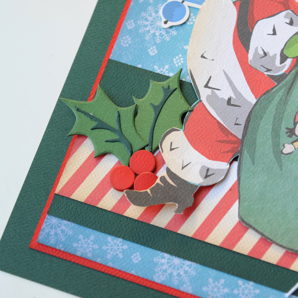 Jana Eubank Carta Bella A Very Merry Christmas Tinsel Rain Scrapbook Page 4 600
