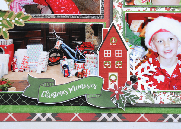 Jana Eubank Echo Park Paper A Perfect Christmas December 25th Two Page Scrapbook Layout 6 600