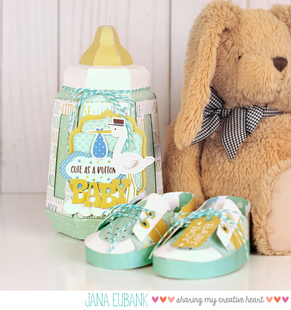 Jana Eubank Echo Park Paper Sweet Baby Boy Bottle 1a 600