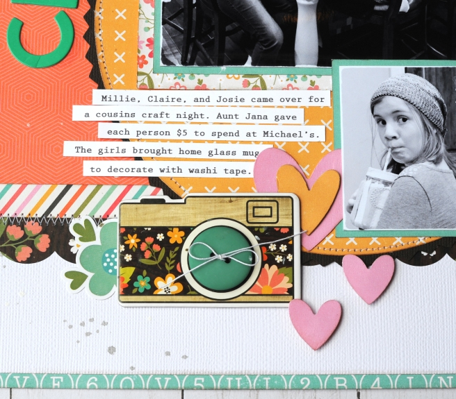 Jana Eubank Echo Park Rather Be Crafting Craft Night Scrapbook Page 4 600
